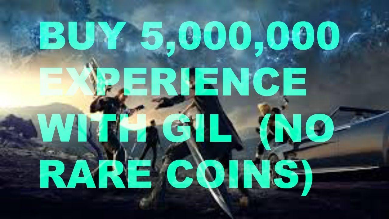 Final Fantasy XV How To Buy 5,000,000 Experience Points No