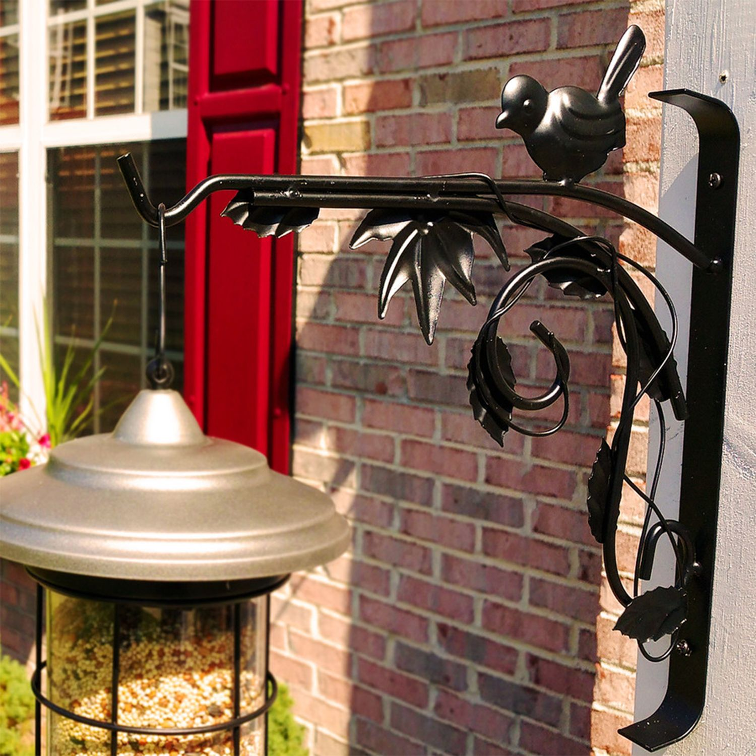Finch bracket plant hooks plant stand with wheels