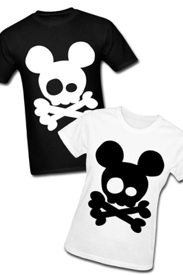 482d38ee0ba012 Skull and Crossbones Mickey Mouse T-Shirt - $12.90 | mickey | Mouse ...