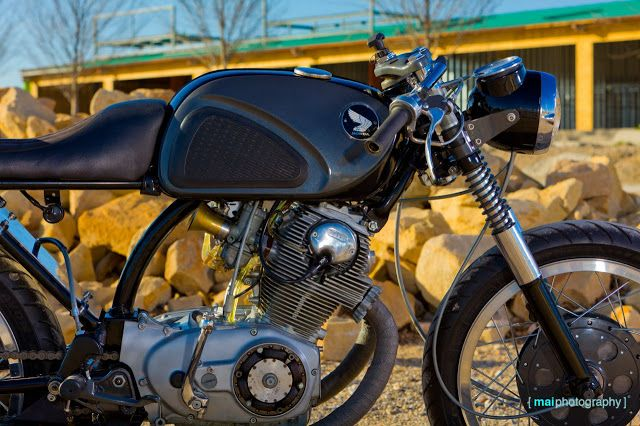 honda cb77 cafe racercity of hate cycles #motorcycles
