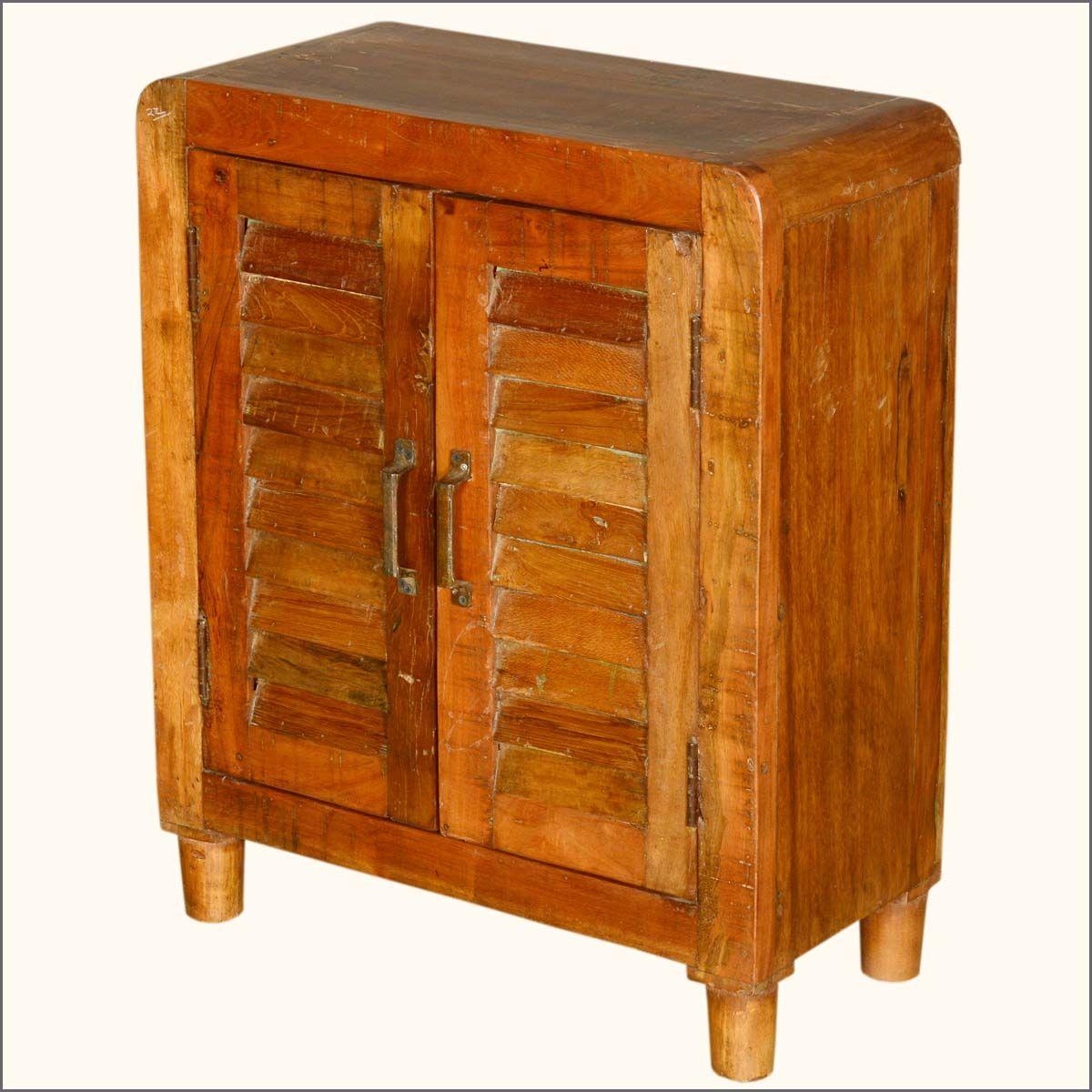 Ventnor Farmhouse Shutter Door Reclaimed Wood Storage Kitchen ...