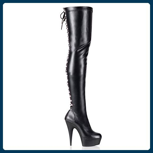 Pleaser Delight 3063 Sexy 36 Plateau High Heels Overknee Stiefel 36 Sexy a1c883