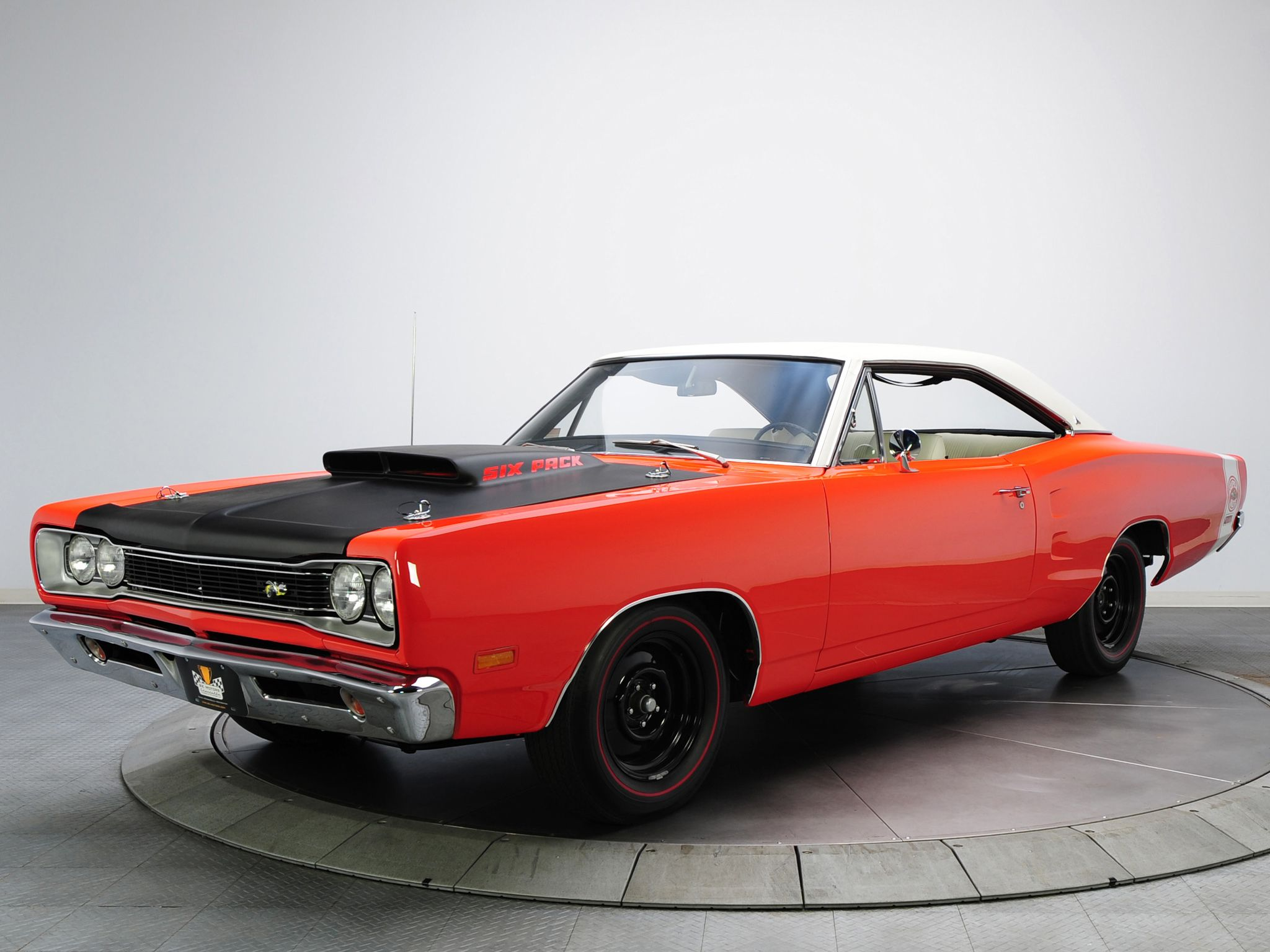 1969 Dodge Coronet Super Bee 440 Six Pack Hardtop Coupe Wm23 Muscle A12 Classic F Wallpaper Background