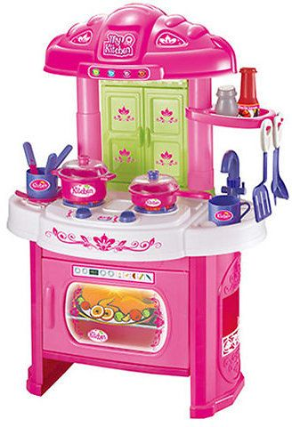 Glamor Girlz My Kitchen 16 Piece Playset with Light and Sound
