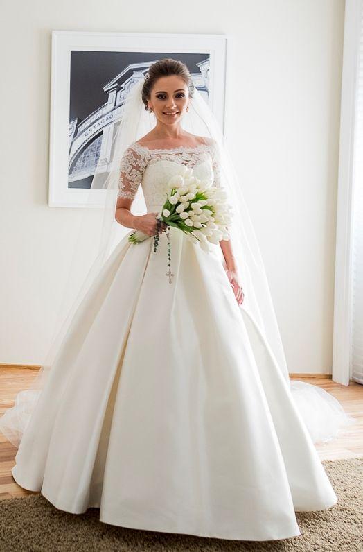 Vestido Casamento Branco Wedding Dress Noiva Bride