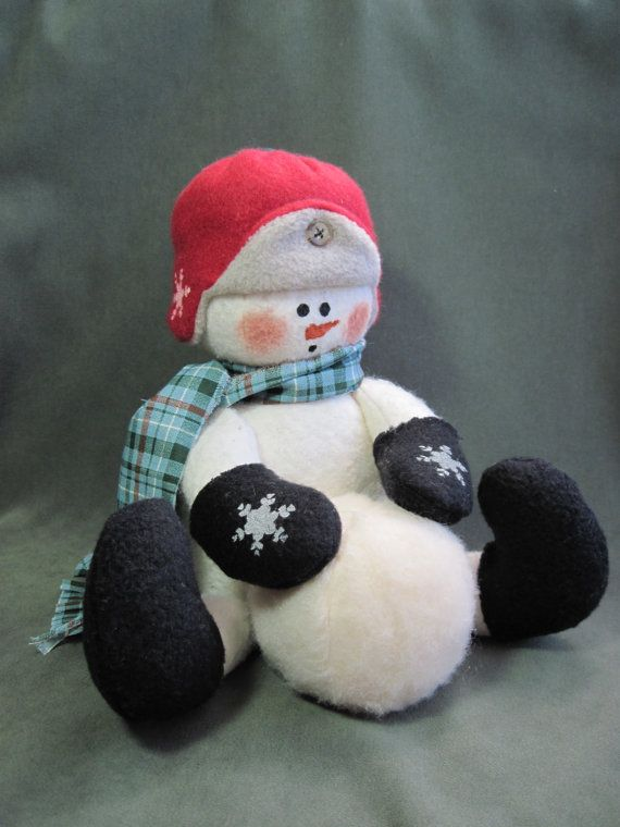 Snowman pattern: Oh Boy Snow 466 by adelinescrafts on Etsy