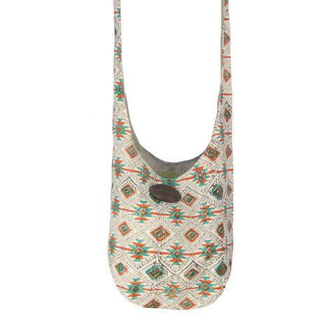 Zee Bee Market LLC - Tribal Print Hippy Fabric Bag | Boho | Pinterest