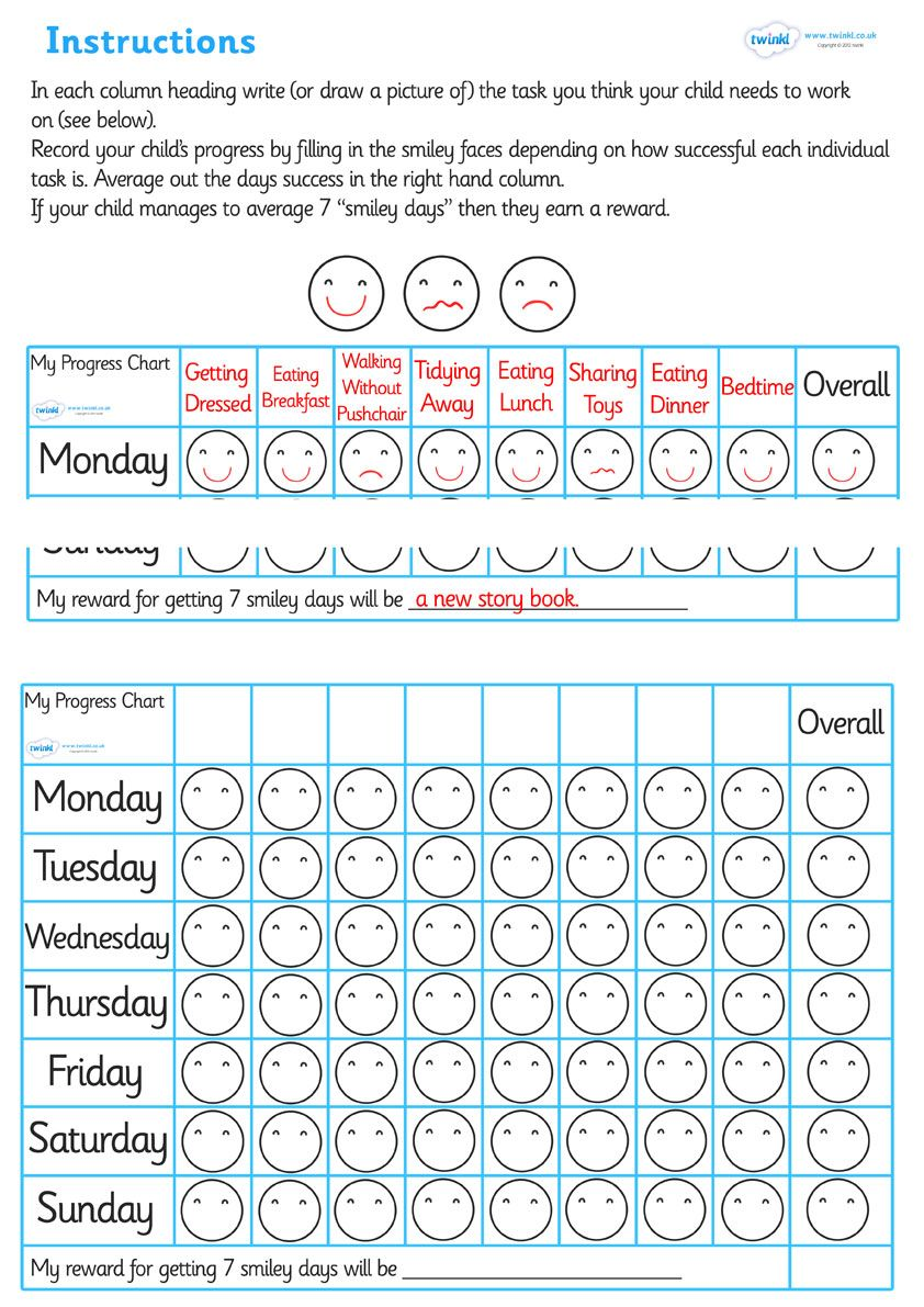 twinkl resources routine progress chart classroom