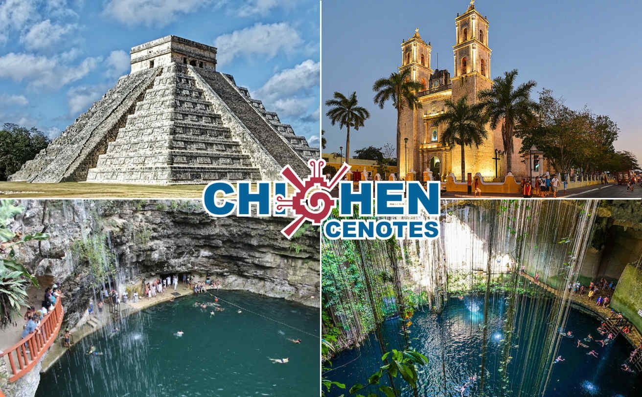 Chichen Itzá Cenote Ik Kil Xcajum Y Valladolid Desde Tulum Tour Chichen Itza Chichen Itza Viajes A Cancun
