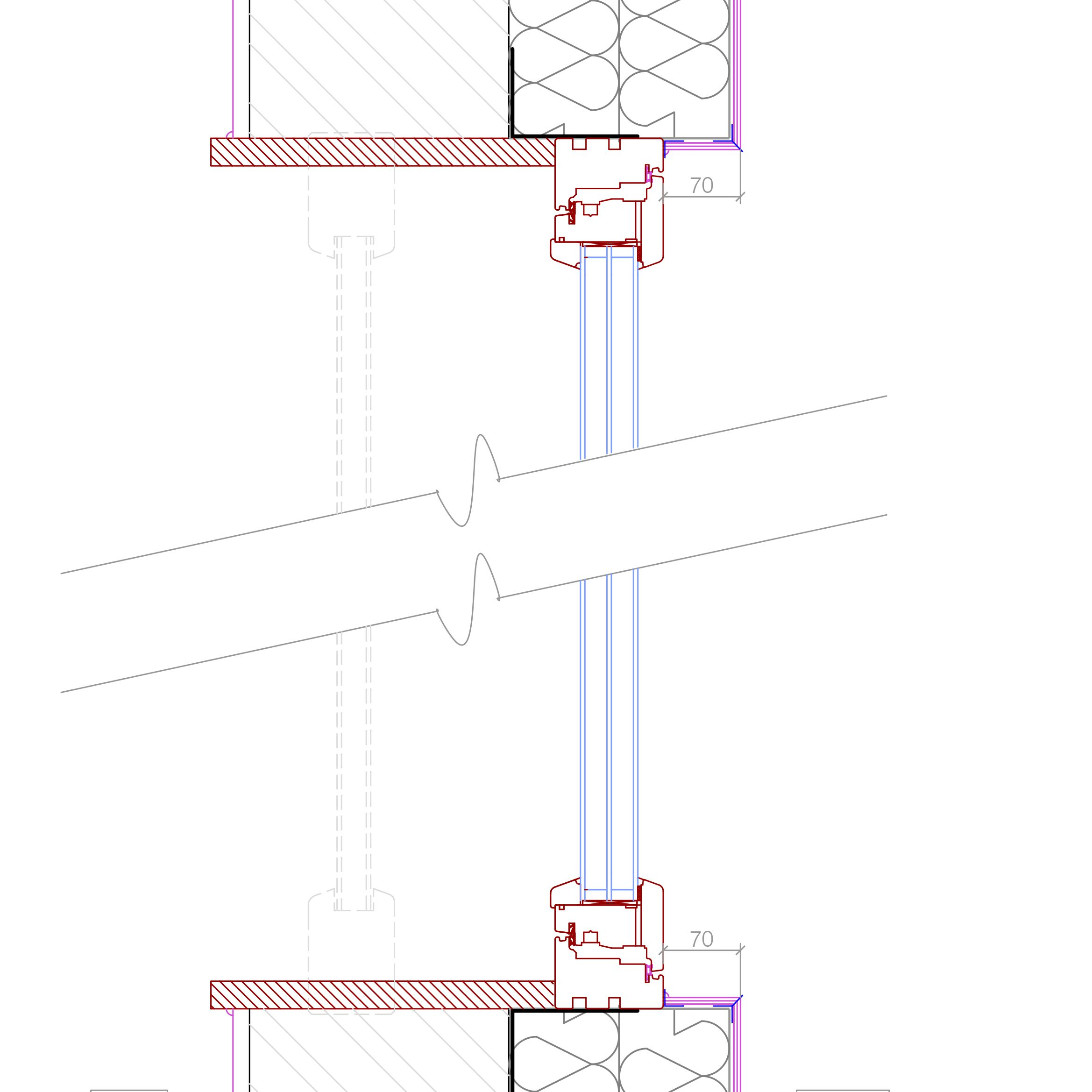 Section through eaves to timber frame wall google search for Window frame plan