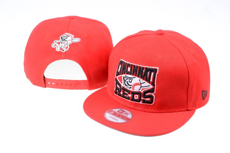 74f4b32c8bf New Era MLB Cincinnati Reds Snapback Hats Cap Red 3411! Only  8.90 ...