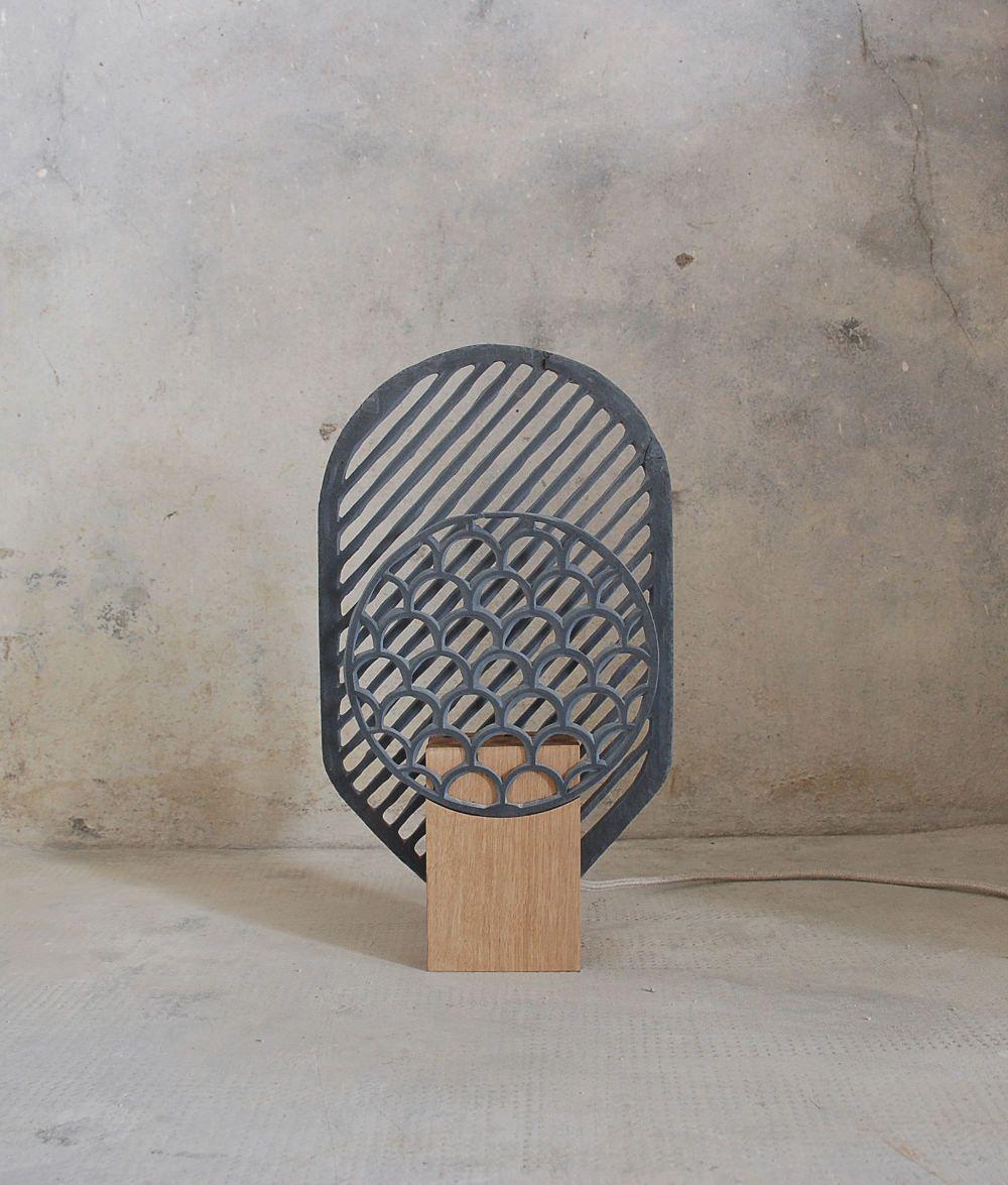 Projet Domestiquer L Ardoise Par Frederic Saulou Ardoise Luminaire Deco