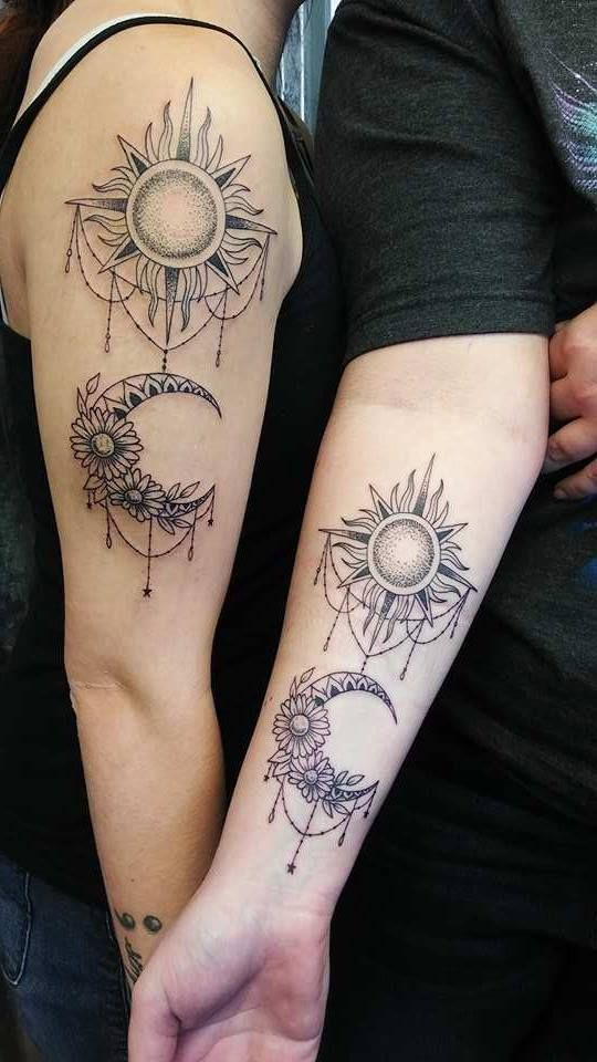 59 super cool sibling tattoo ideas to express your sibling love tattoo trends tattoo and tattos. Black Bedroom Furniture Sets. Home Design Ideas