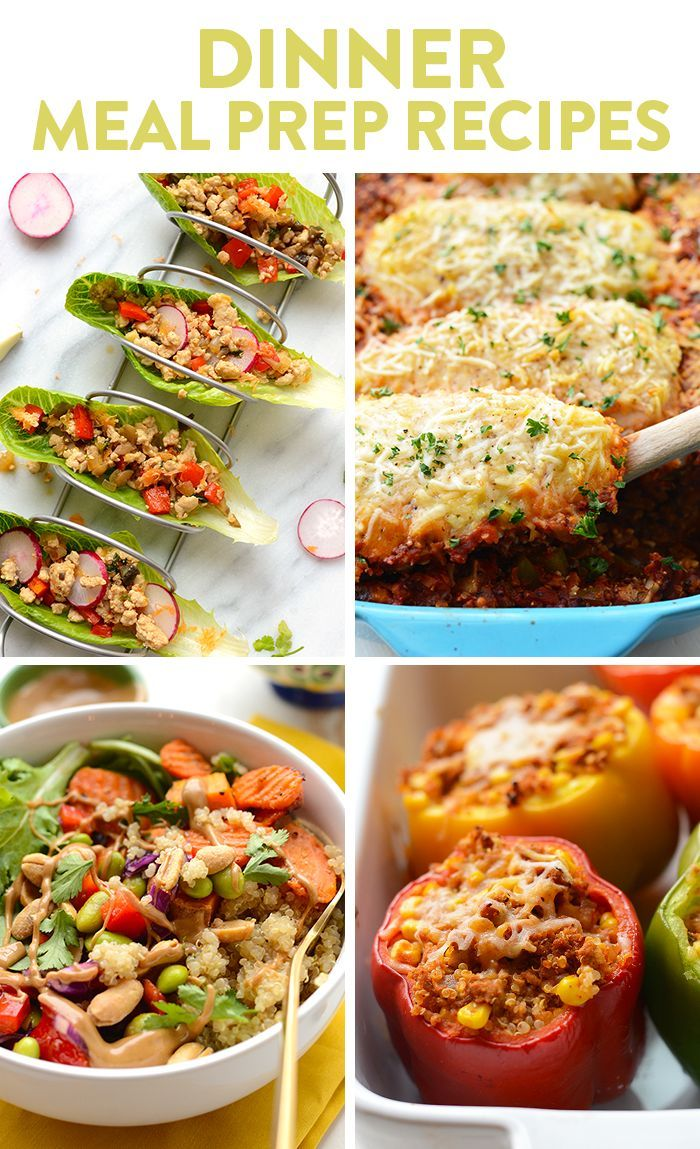 Best healthy meal prep recipes food prep inspiration pinterest get inspired with these healthy meal prep recipes including breakfast lunch dinner snacks and desserts forumfinder Image collections