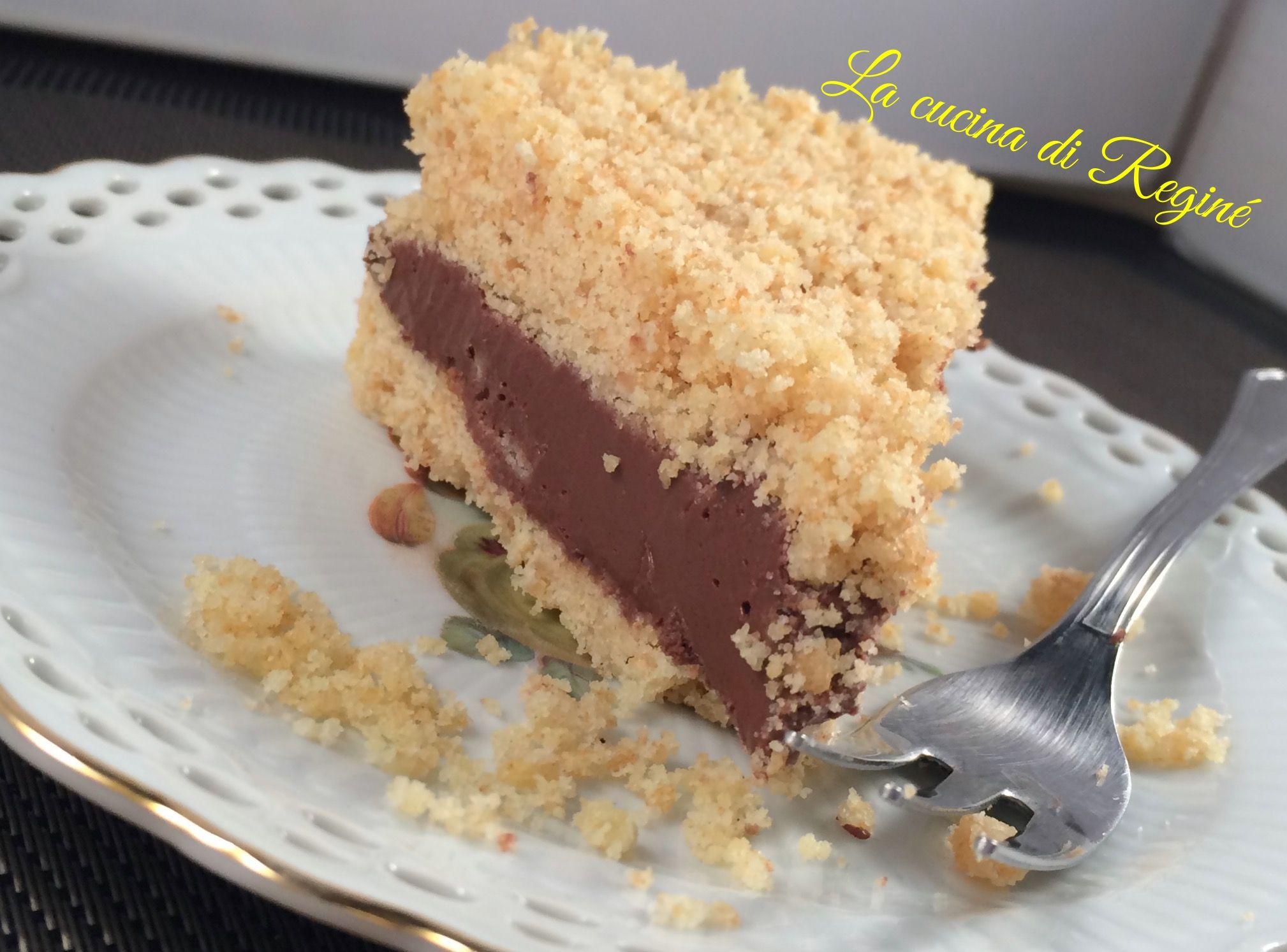 Sbriciolata fredda pavesini e nutella, un dolce a dir poco delizioso e il fatto che non richiede cottura è il massimo il successo è assicurato