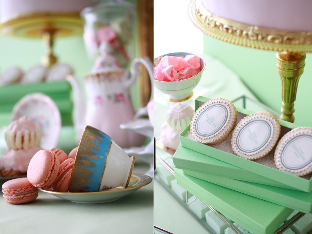 A Laduree Inspired Dessert Table