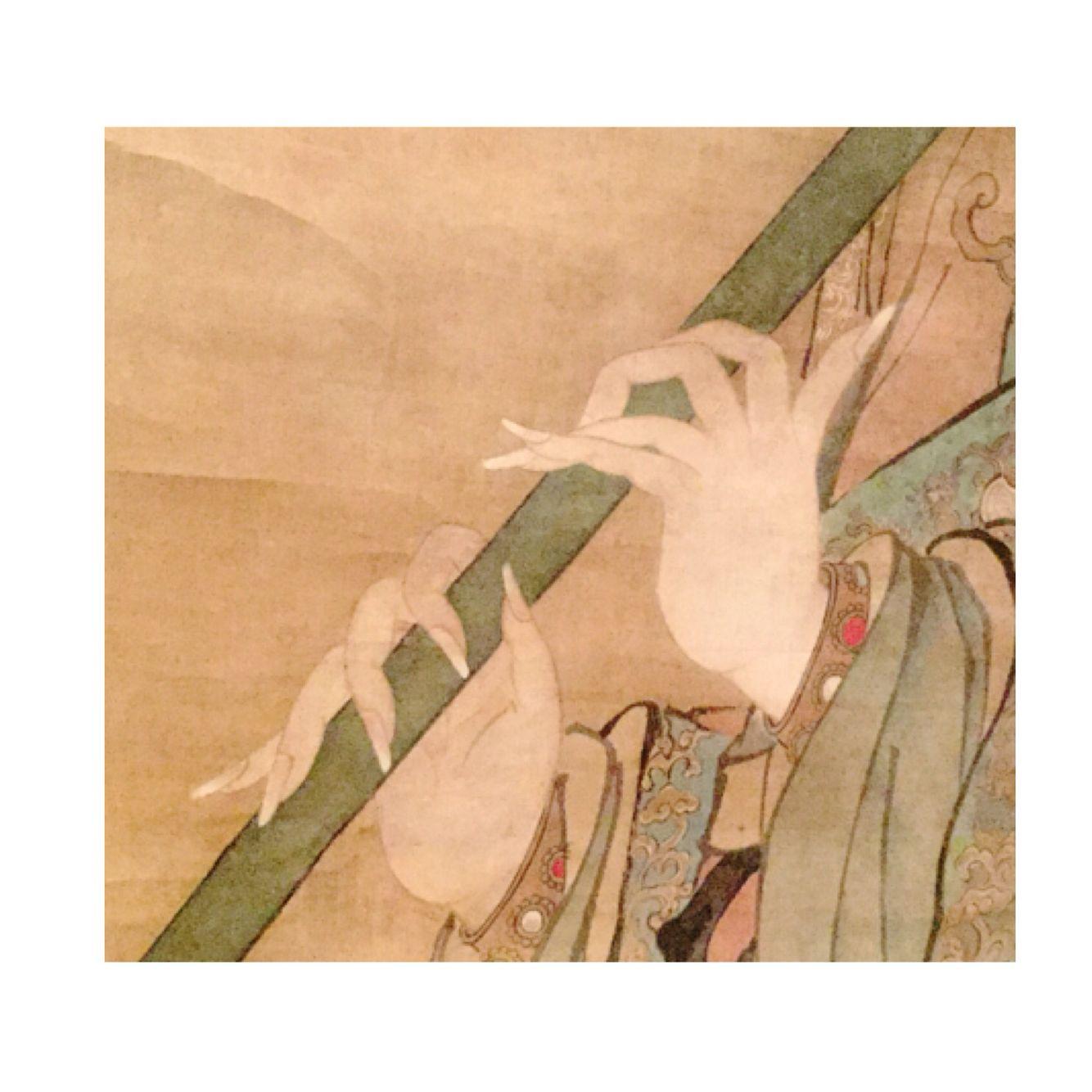 """Detalle de """"la Gioconda de la dinastía Ming"""""""