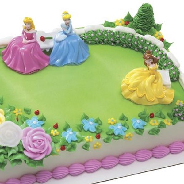 Stop And Shop Princess Garden Birthday Cakes Disney Princess