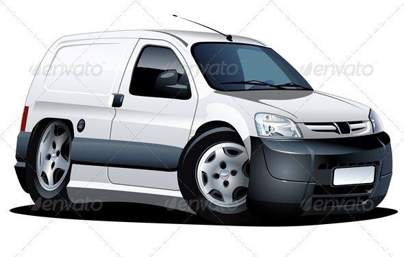 Cartoon Delivery Van 2020 Autos Y Motocicletas Autos Camionetas