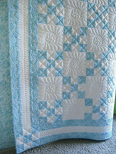 Tourquoise Irish Chain Quilts Sewing Projects Irish
