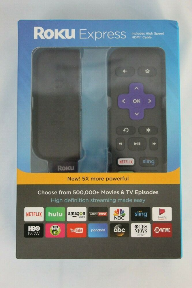 Details about Roku Express 3900R HD New in Box Digital