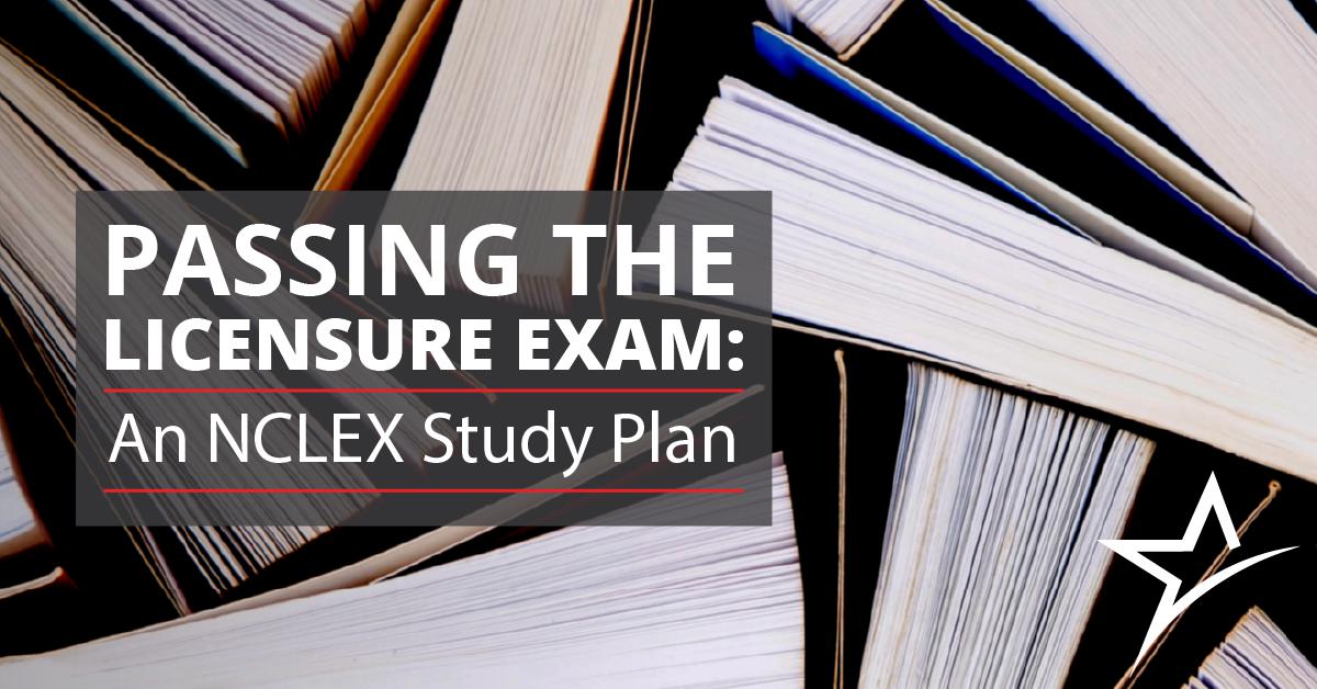 779ccab9553dc Creating an NCLEX study plan that will help you pass the exam ...