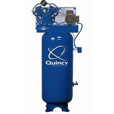 Quincy 2v41c60vc Qt 54 Pro 5 Hp 60 Gallon Two Stage Air Compressor