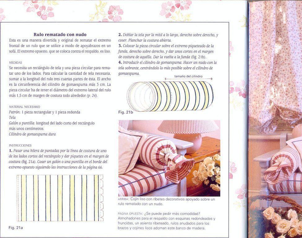TUTORIAL COMO HACER DISTINTOS MODELOS DE COJINES | cojines ...