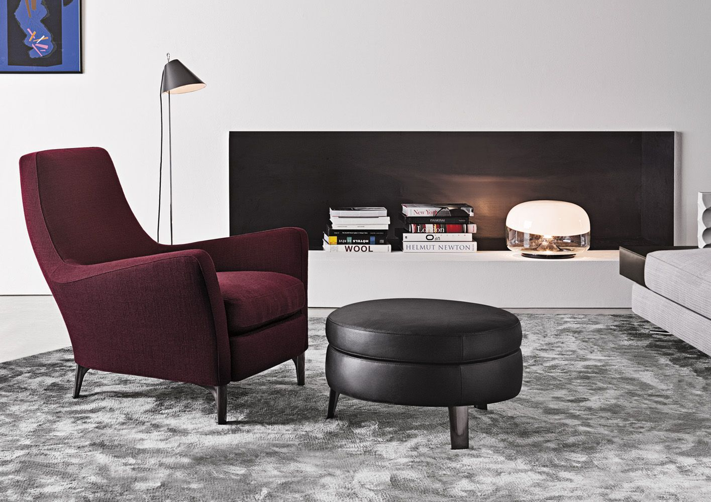Minotti Denny Chair Also Fits The Bill For Modern And Comfortable Looking
