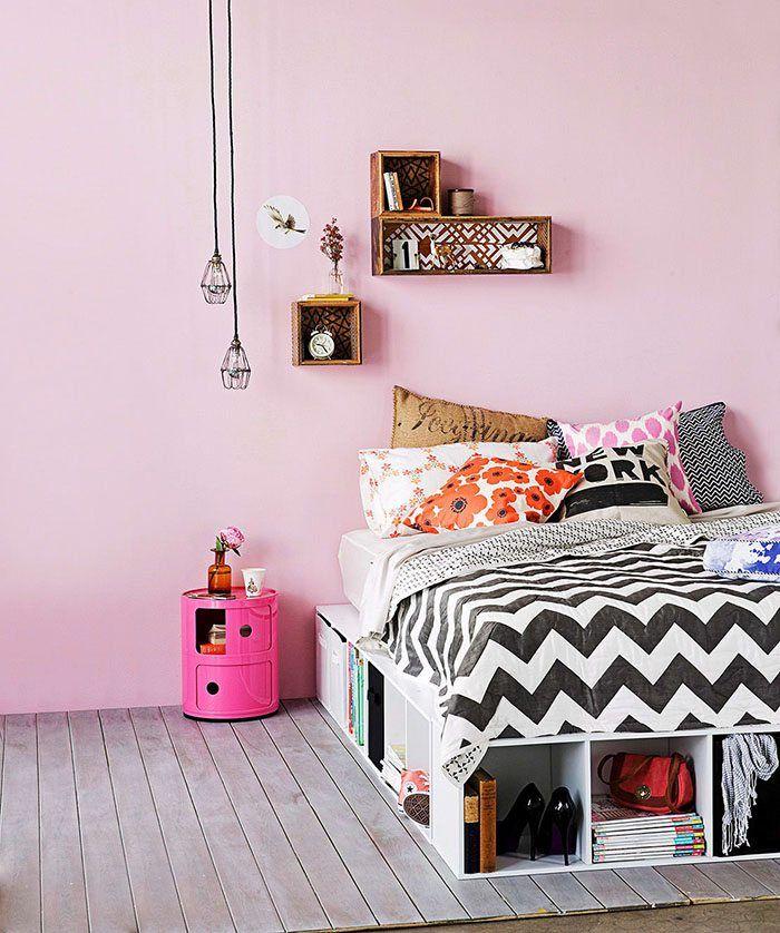 5 formas de crear cabeceros con cojines para el dormitorio - Cabeceros Con Cojines