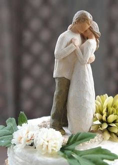 Willow Tree Cake Topper Wedding