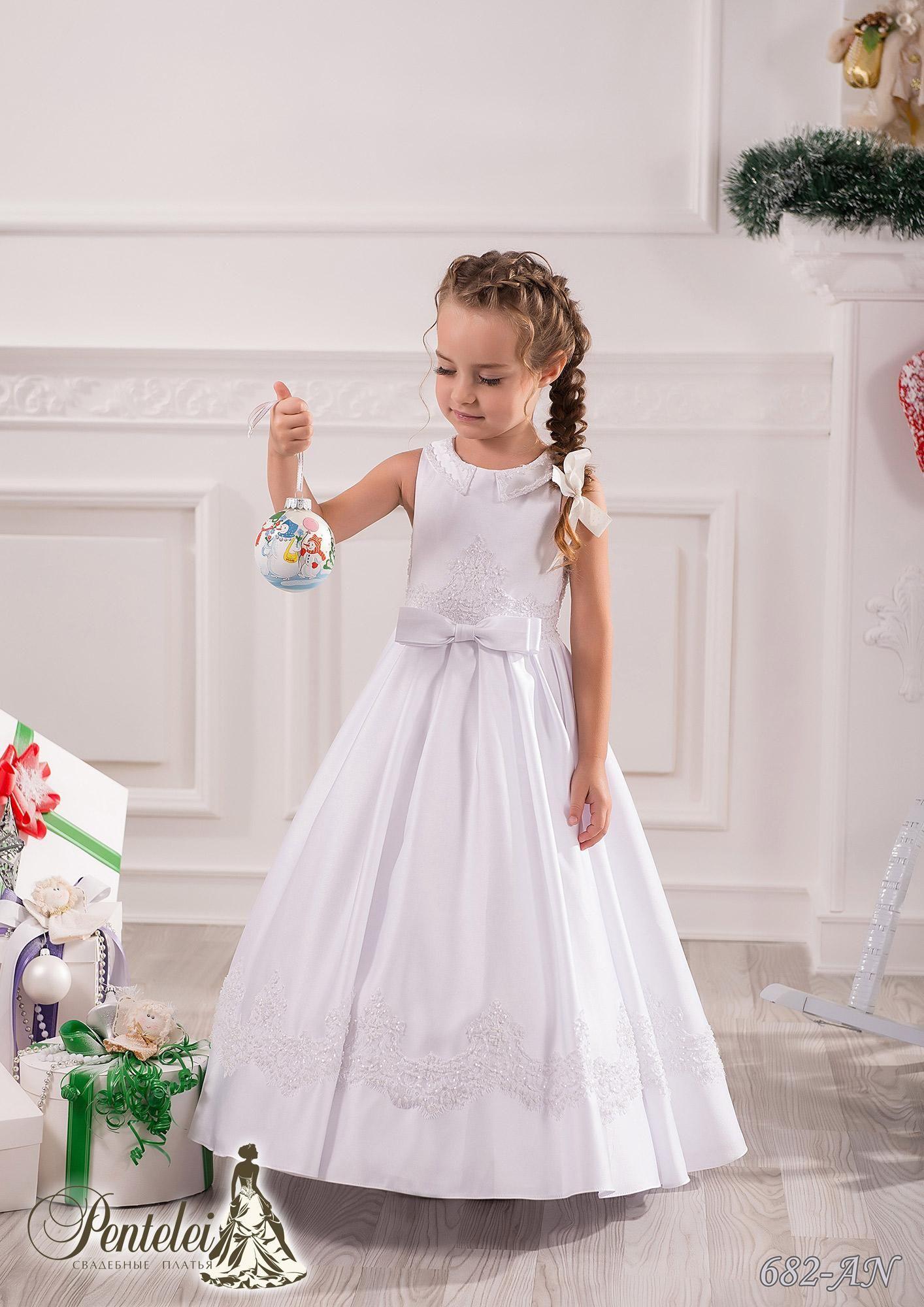 Bweatiful Flower Girls Dresses for Weddings with Jewel Collar ...