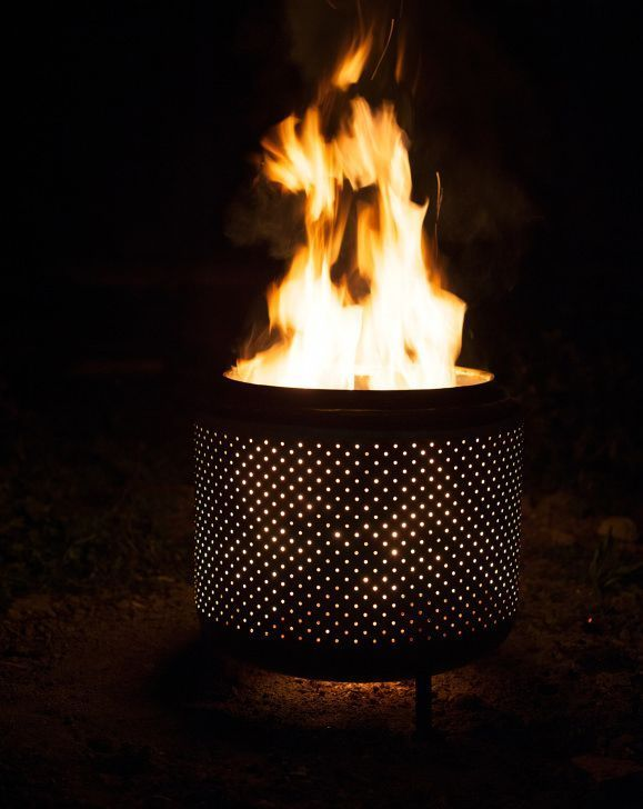 Photo of The Finished product #metal fire pits repurpose How to turn your washer into a f…