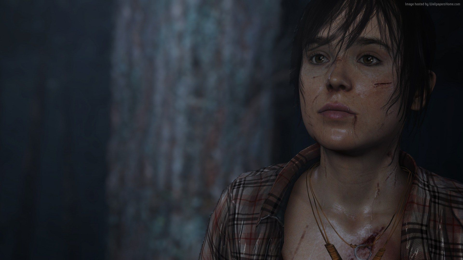 sony comes out swinging against beyond: two souls nudes | game art