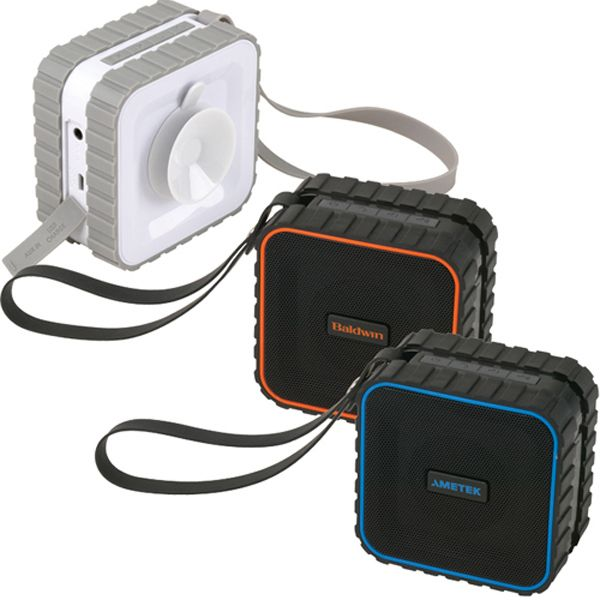 Bluetooth suction waterproof speaker~  Everyone needs this!  Call for your pricing.
