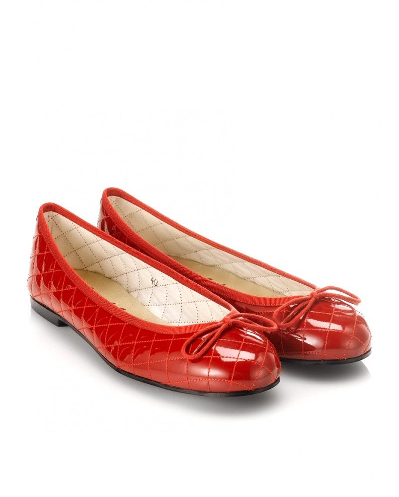 e8371072d0070 French Sole Henrietta quilted ballet flat | My Shoes | Shoes, Flats ...