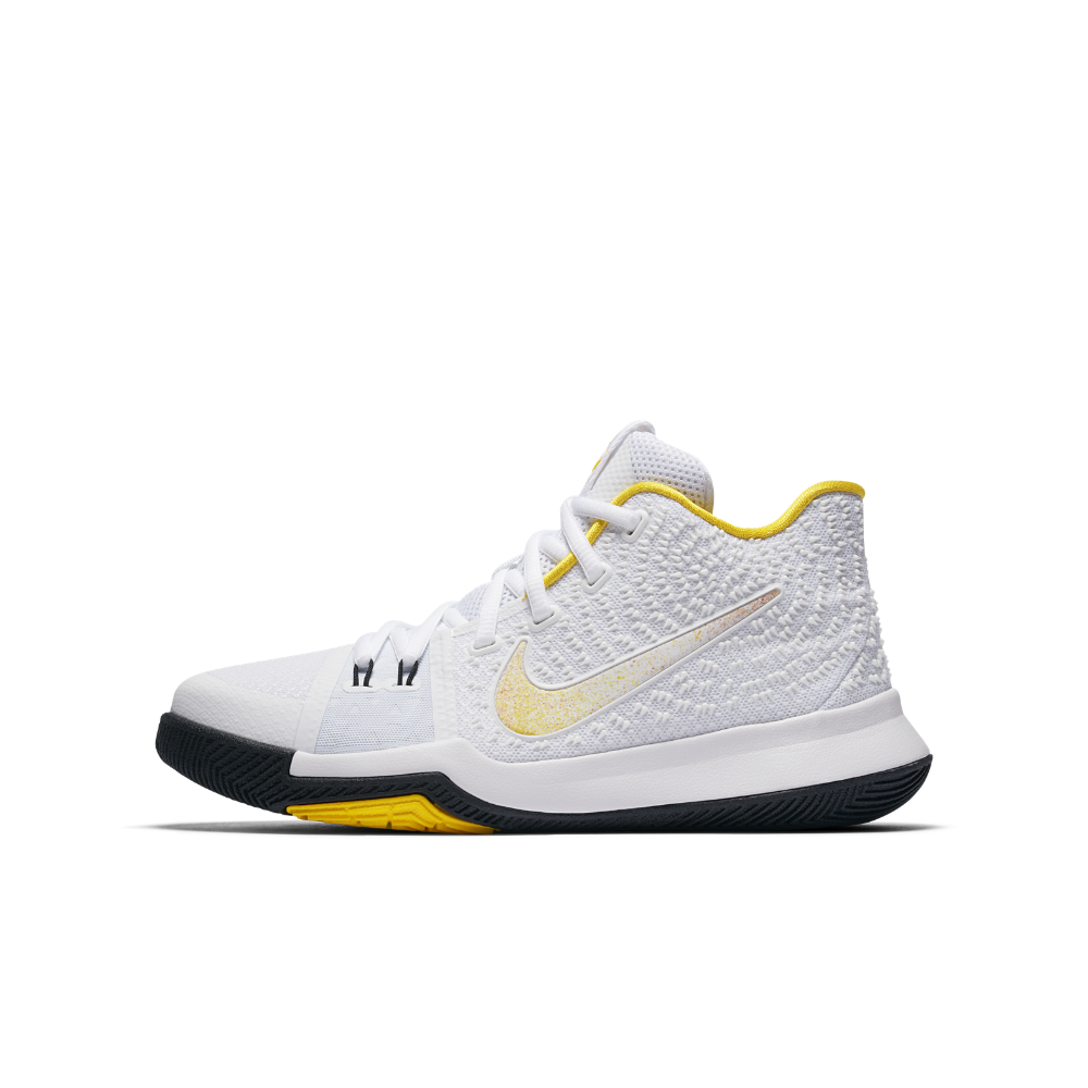 finest selection d4212 516c6 ... top quality nike kyrie 3 n7 big kids basketball shoe size 6.5y white  03744 67ae4