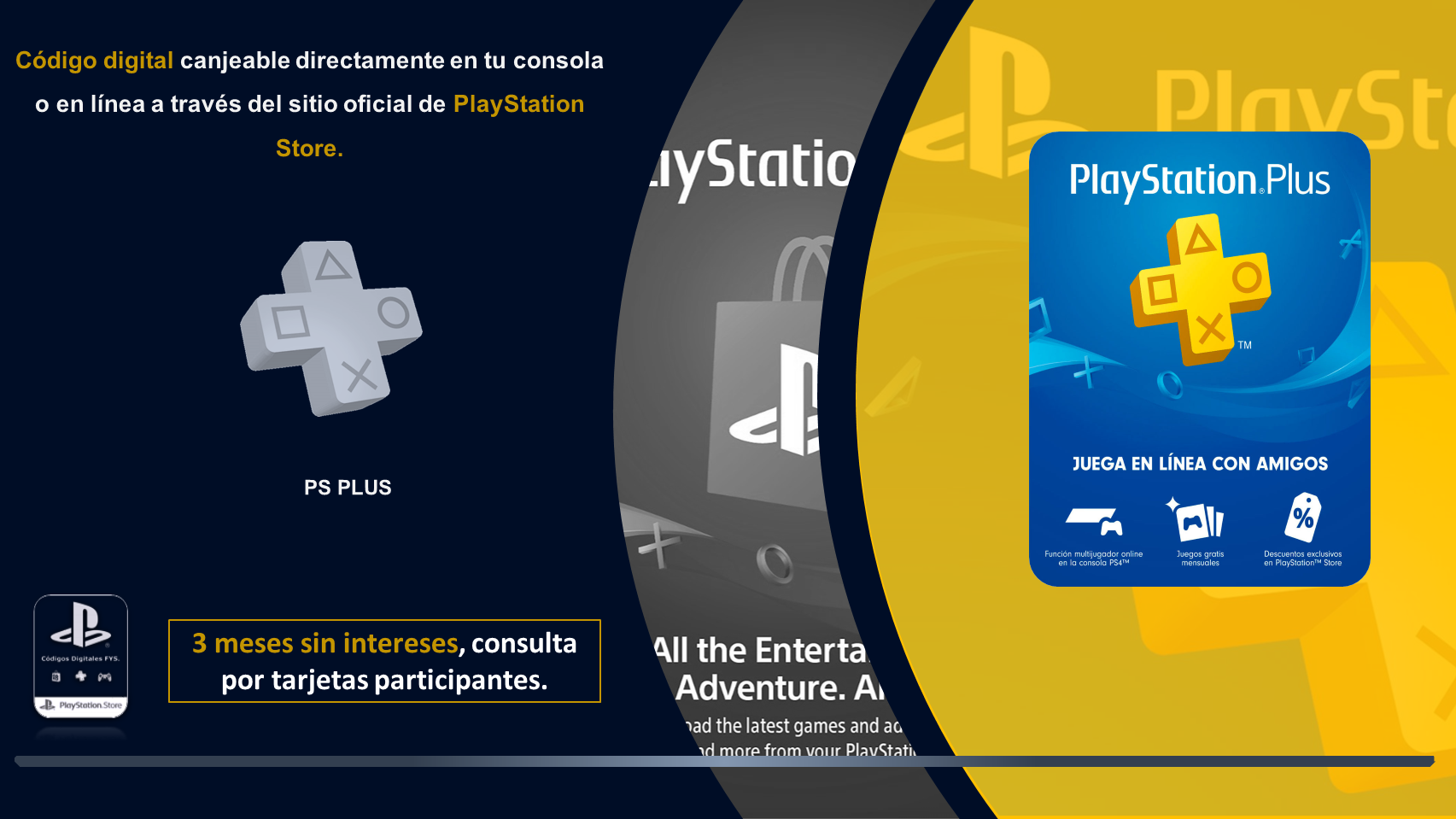 Ps Plus Promoción Diseño De Presentación Disenos De Unas Consola