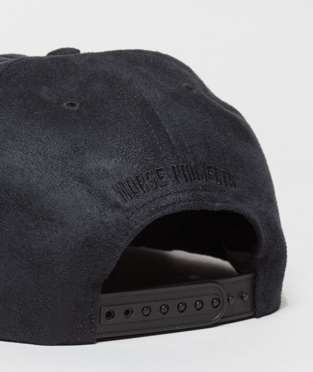 c5fcf523999 Norse Projects Fake Suede Trucker cap