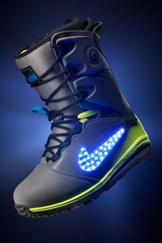 "brand new aca51 52098 Nike Snowboarding – LunarENDOR QS Snowboard Boot   ""Light Up The Slopes,  Literally"""