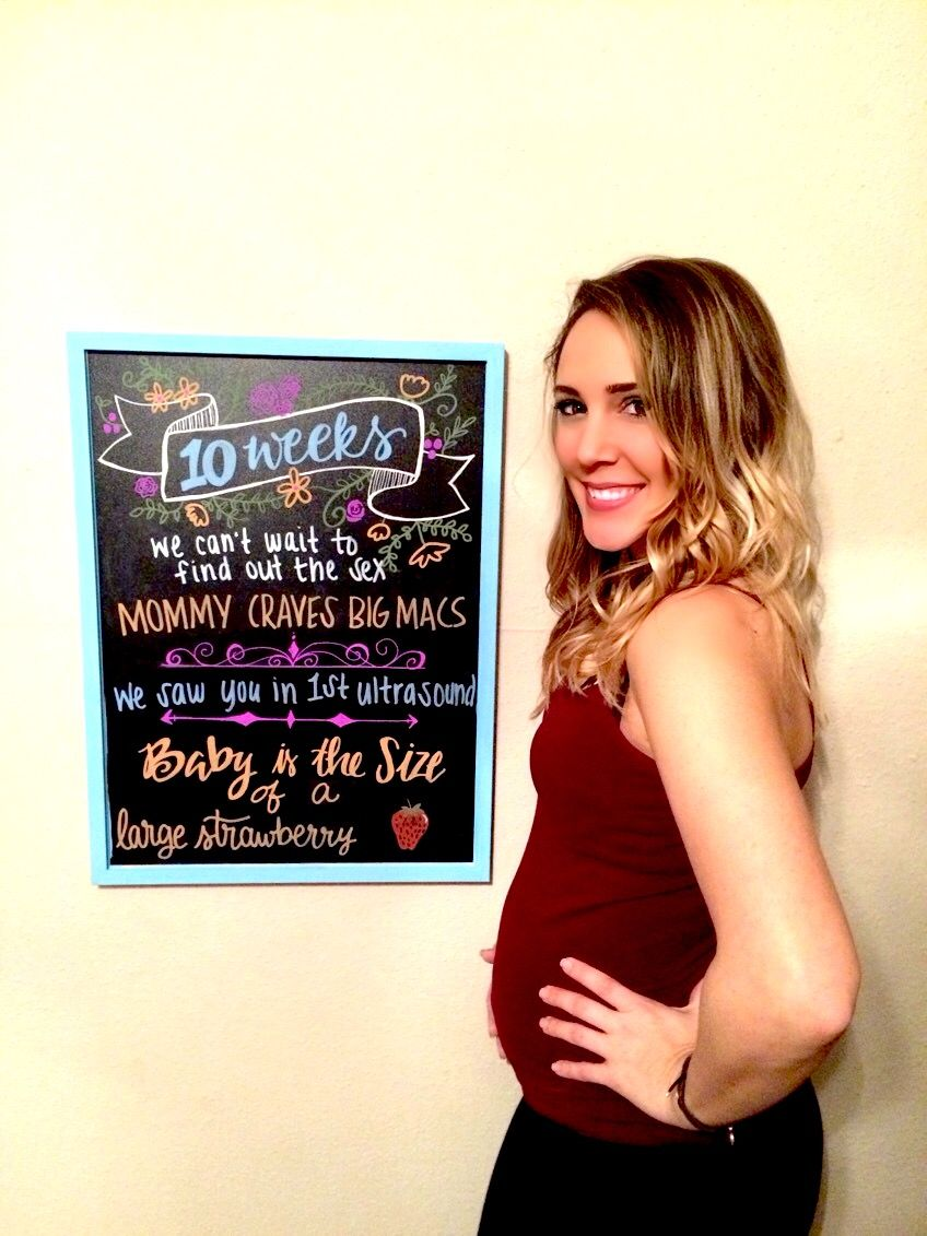 10 weeks pregnant chalkboard photo, baby bump picture, boho, lettering  sign, pregnancy board