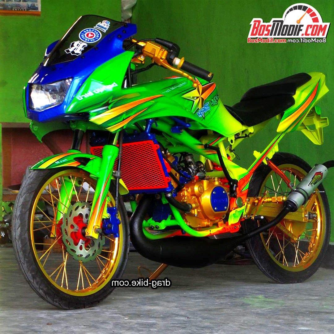 99 Gambar Motor Ninja Rr Jari Terlengkap Obeng 55 Foto Modifikasi