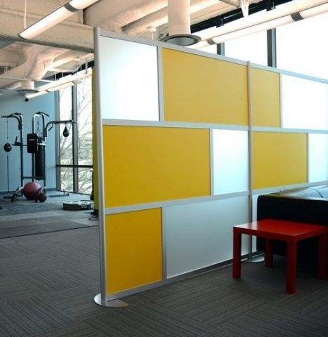 12ft_yellow_frosted_LR2-LOFTwall   Ideas Project EMP   Pinterest ...