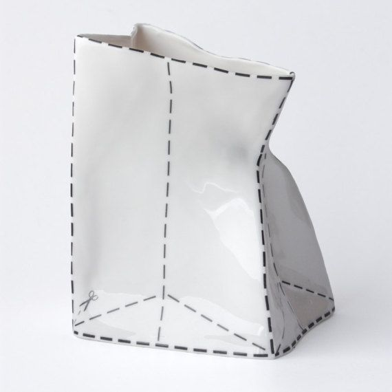 Ceramic Vase, Porcelain Vase