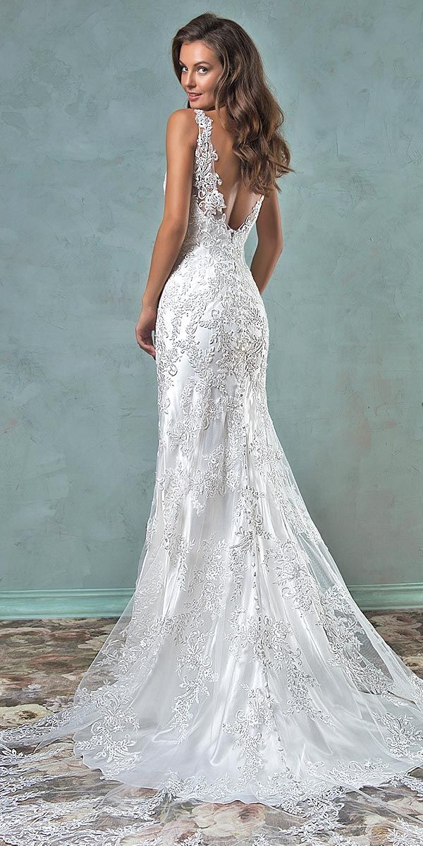 24 Modern Jeweled Wedding Dresses   Jewel, Wedding dress and Wedding