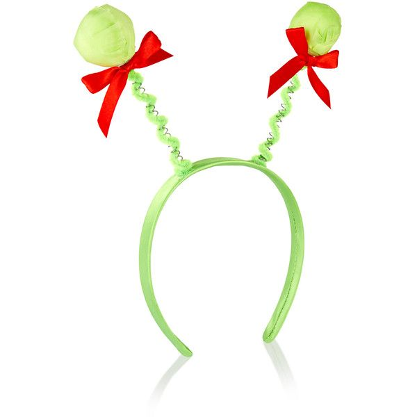 Accessorize Brussel Sprouts Head Boppers 8 Liked On Polyvore Featuring Accessories H Christmas Hair Accessories Red Hair Accessories Bow Hair Accessories