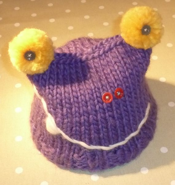 Creative Knitting Knitting Pattern Monster Hat Knitting