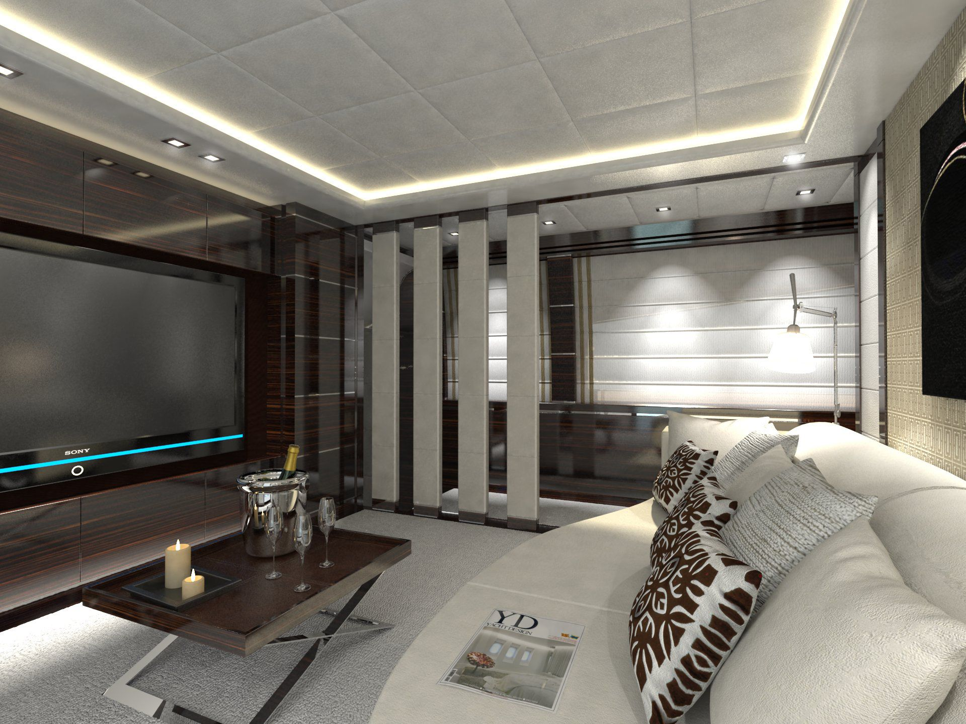Marrane Yacht Media Room Luxury Charter Superyacht News