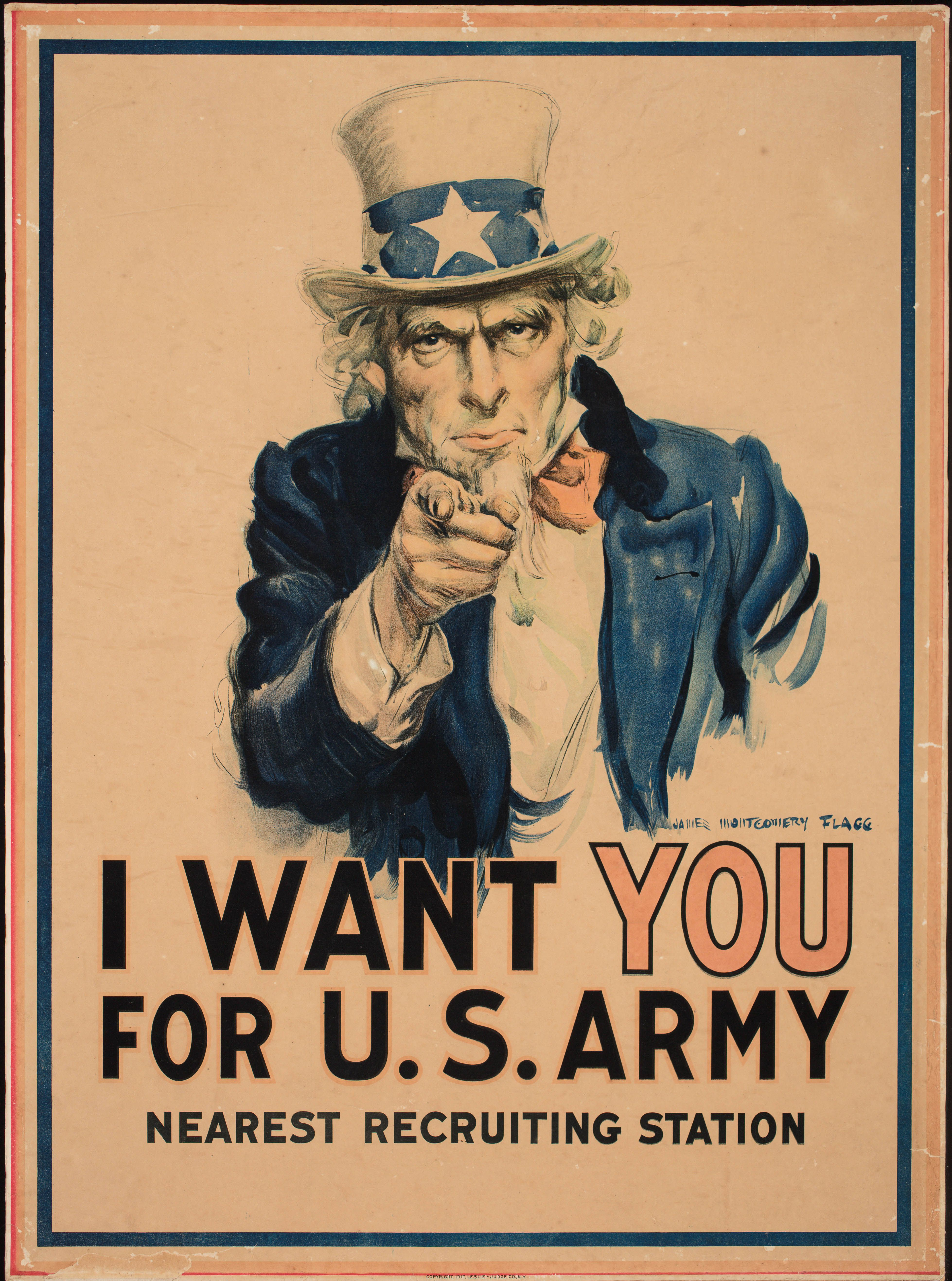 Ww1 Poster I Want You For The Us Army 1917 Ww1 Posters