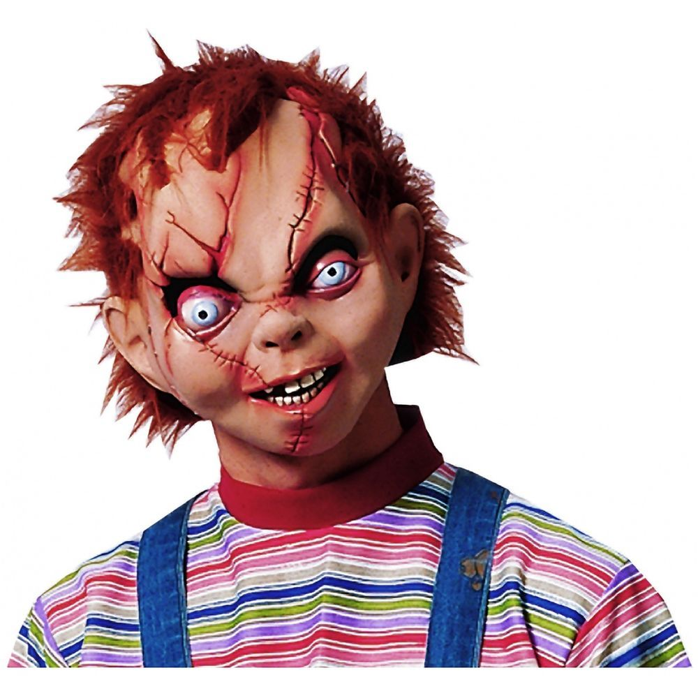 Chucky Mask Costume Mask Adult Mens Chucky Halloween | Costumes